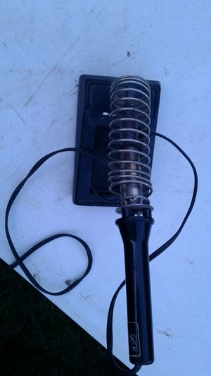 Soldering iron and stand for Sale in Federal Way, WA