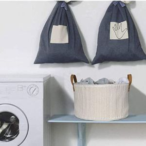 Get Organized!! Chic Woven Cotton Rope Baskets For Nursery, Laundry, Kids Toys!! for Sale in Frederick, MD