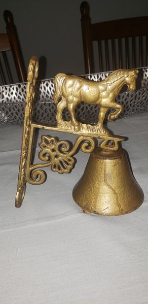 Vintage cast iron horse barn Bell for Sale in Austell, GA