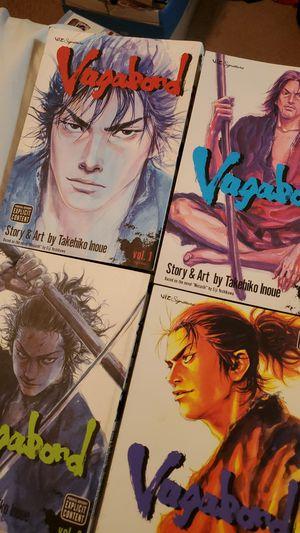 Vagabond vol 1-4 for Sale in Lake Charles, LA