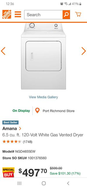 Amana Gas Dryer for Sale in Camden, NJ