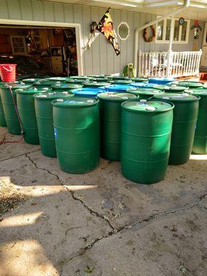 Plastic barrels for Sale in Aurora, IL