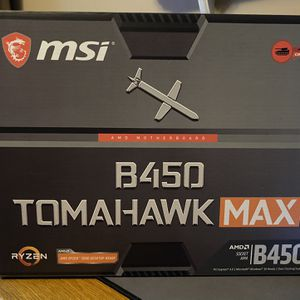 MSI B450 Tomahawk Motherboard for Sale in Norwalk, CA