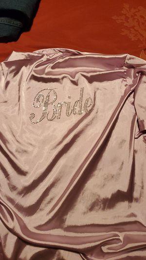 Purple silk bride robe for Sale in Spring Hill, FL