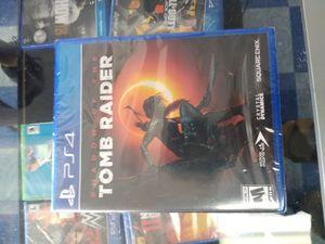 PS4 tomb raider for Sale in Dallas, TX