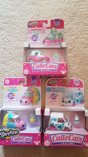 Shopkins cutie cars for Sale in Daly City, CA