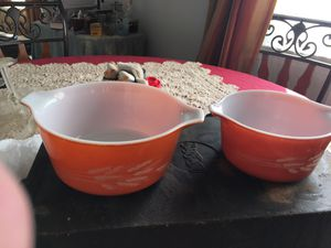 Wheat Pyrex dishes for Sale in Raleigh, NC