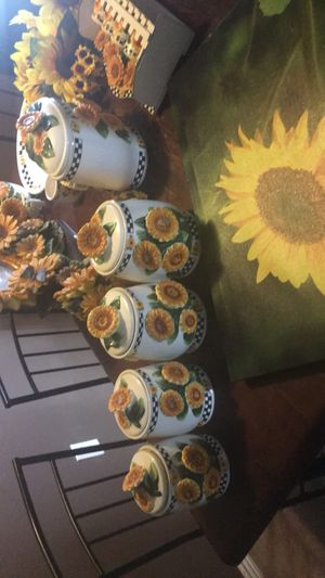 Sunflower kitchen decor for Sale in Longmont, CO