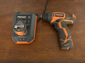 Battery drill Ridgid for Sale in Houston, TX