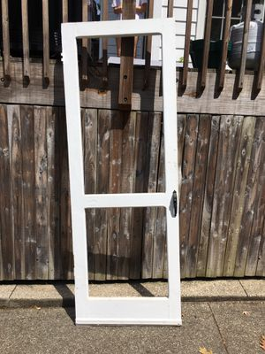 Screen door frame — FREE for Sale in Washington, DC