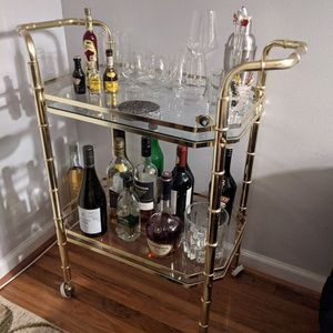 Gold Bar Cart for Sale in Montgomery Village, MD