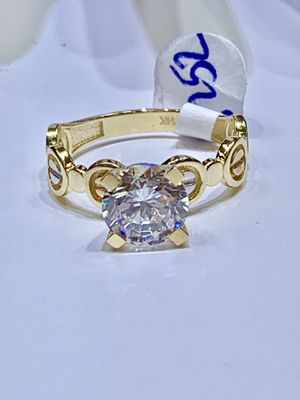 Real14 karat gold lady ring made in Italy( item #M25) for Sale in Houston, TX