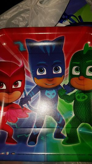 Pj mask party supplies for Sale in Tacoma, WA