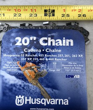 """20"""" Chainsaw for Sale in Industry, CA"""