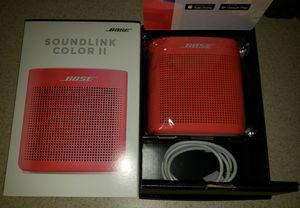 BOSE SoundLink Color II Bluetooth Speaker Red. for Sale in Prescott Valley, AZ
