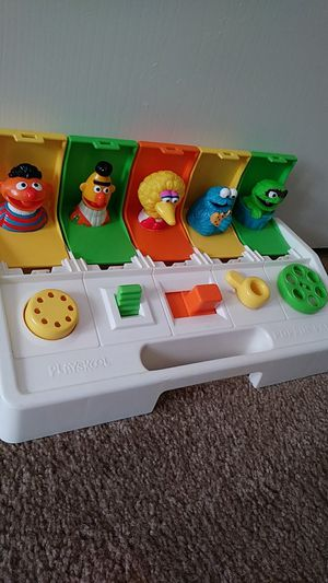 Vintage Sesame Street Playskool Poppin'Pals Toy for Sale in Las Vegas, NV