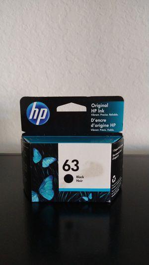 Original Hp Ink black noir63 for Sale in Naples, FL