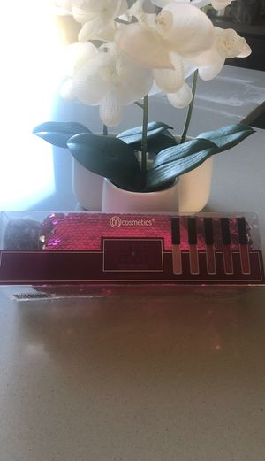 bh cosmetics 5 piece liquid lipstick with bag for Sale in Commerce City, CO