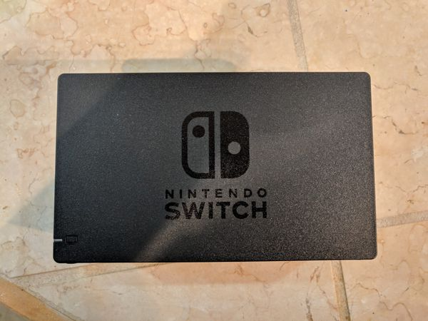 MINT Nintendo Switch (Grey) 32GB w/ Case - Barely Used, Adult Owned + 2 Games