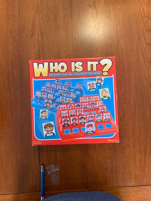 """NIB: """"WHO IS IT?"""" Game for Sale in Lake Hallie, WI"""