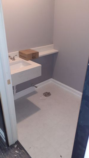 """we remodel bathrooms, basements, kitchens, bedrooms, floors, paint """""""" call them {contact info removed} my name Raul for Sale in East Brunswick, NJ"""