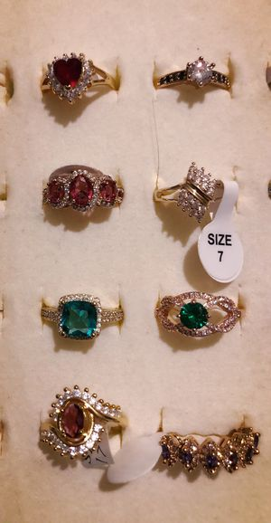 Sales!! Beautiful gold plated rings for Sale in Lawrence, MA