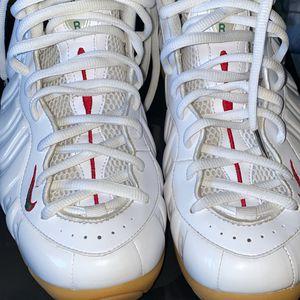 "Nike foamposites ""White ""Gucci "" for Sale in Hialeah, FL"