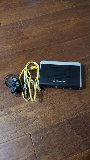 Centurylink modem w/router model no: C1000Z for Sale in Colorado Springs, CO