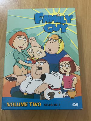 Family Guy Volume Two Season Theee for Sale in Westminster, CA