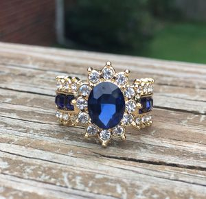 Gold plated floral ring size 5,6,8,9 available for Sale in Colesville, MD