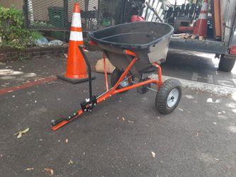 Huskavarna lawn fertilizer spreader for riding mower for Sale in Portland,  OR