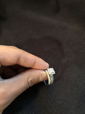 1 Carat combined 10k white gold ring for Sale in Covina, CA