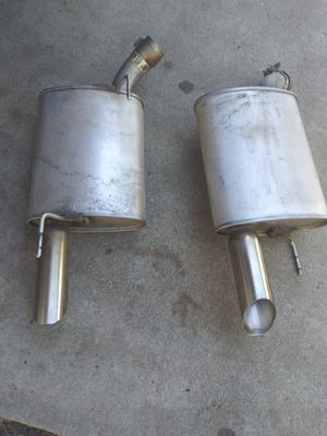 Mufflers off a Mustang like knew for Sale in San Jose, CA