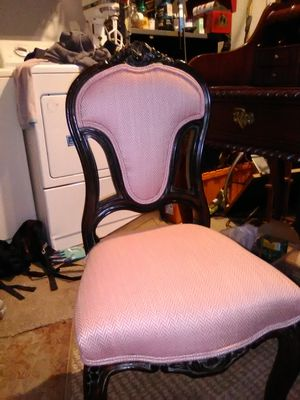 Antique Renaissance powder room chair for Sale in Laguna Beach, CA