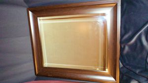 Handsome, sophisticated, clean, simple mid-sized wall-hanging mirror for Sale in Salt Lake City, UT