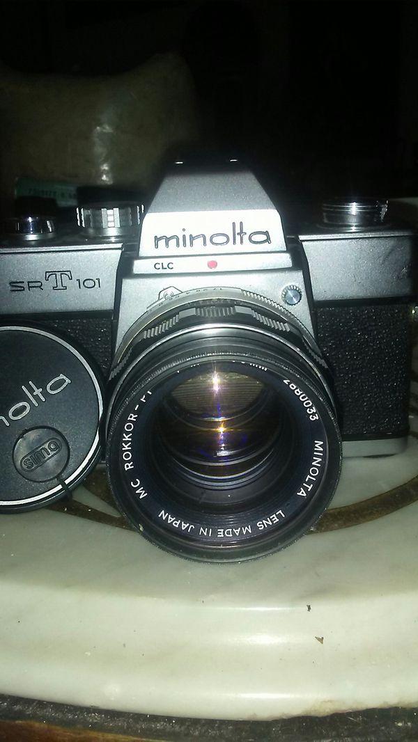 Minolta Camera SRT101
