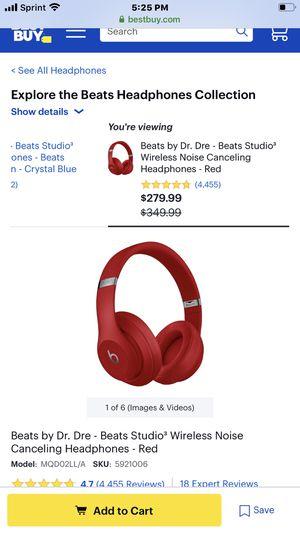 Beats studio 3 Headphones for Sale in North Lauderdale, FL