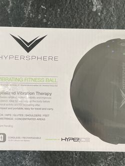 Black Hyperice Hypersphere vibrating fitness massage ball massage gun for Sale in Houston,  TX