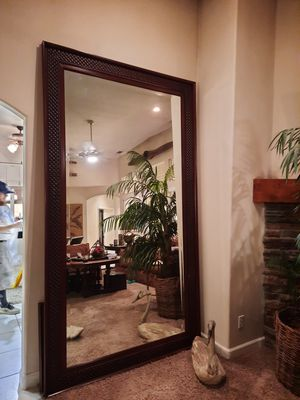 Beautiful furniture for sale. Mirrors, bookshelves and chair with foot rest for Sale in Turlock, CA