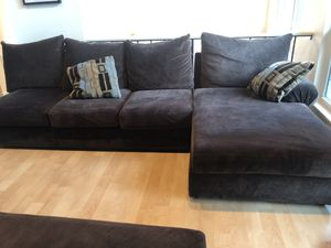 Avenue 3 Sofa- Champion Chocolate for Sale in Renton, WA