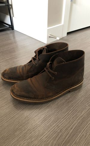 Clarks Men's Bushacre 2 Chukka Boots (Beeswax 9.5) for Sale in Boston, MA