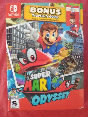 Nintendo switch Super Mario Odyssey for Sale in Dallas, TX