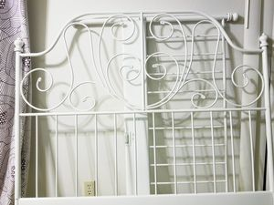 Leirvik metal bed frame full size for Sale in Renton, WA