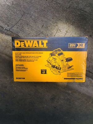 "New DeWalt XR 7-1/4"" Circular Saw with Brake (Tool Only) for Sale in Modesto, CA"