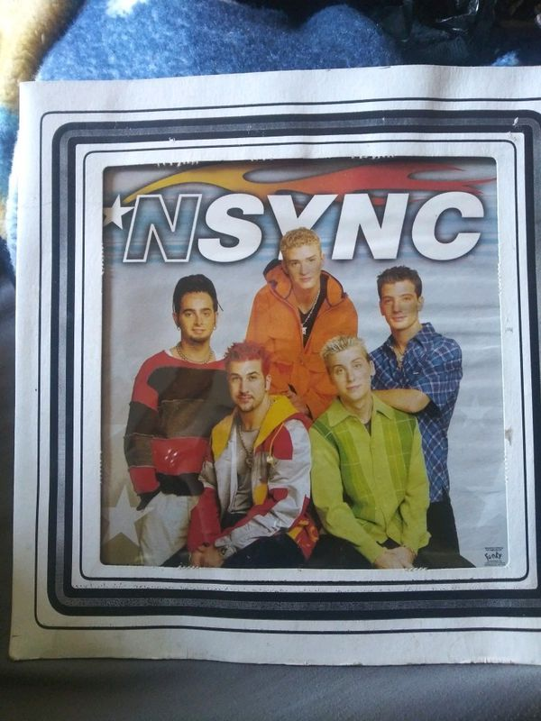 N'sync glass picture frame