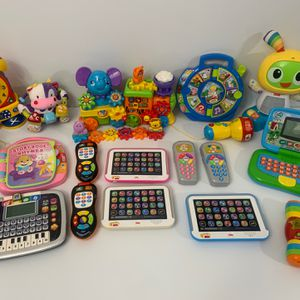 Vtech Fisher price Toddler Toys Learning Lot for Sale in Hialeah, FL