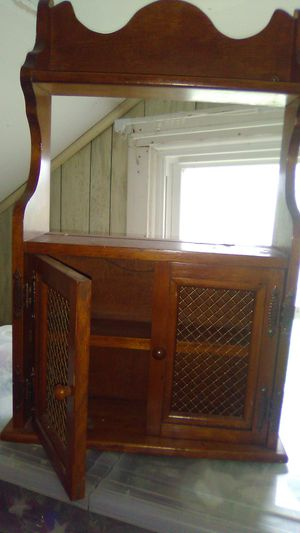 Wood shelf/cabinet for Sale in Williamstown, WV
