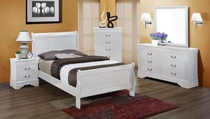 Twin size sleigh bedroom set for Sale in West Columbia, SC