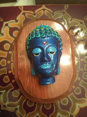 Handmade Buddha wall plaque for Sale in Palm Harbor, FL