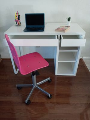 Ikea desk and chair for Sale in Riverside, CA